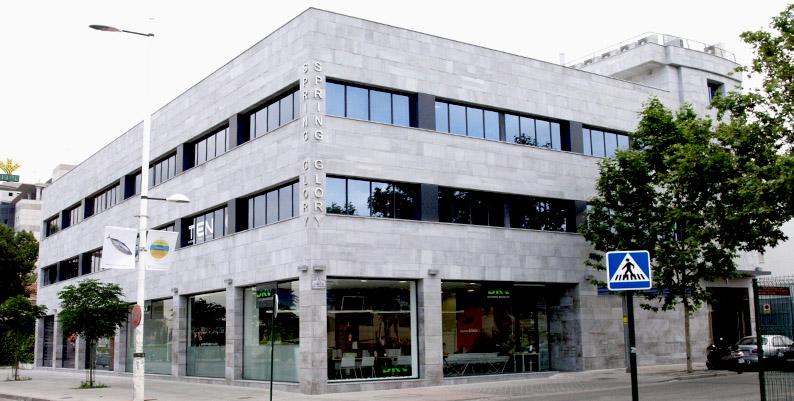 Alquiler de oficinas y locales en granada promotora nueva andaluc a s l edificio spring glory - Luckia oficinas madrid ...